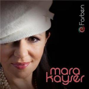 Mara Kayser - CD Cover FARBEN