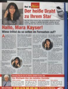 Mara Kayser in Meine Melodie
