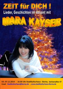MARA KAYSER Weihnachtstour Borna 07.12.14