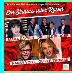 2020 SRR Strauss roter Rosen Quadrat